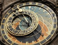 horloge astronomique Prague Photos stock