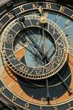 horloge astronomique Prague image libre de droits