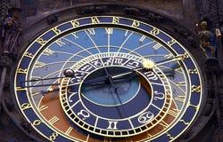 Horloge atronomical de Prague Photographie stock libre de droits