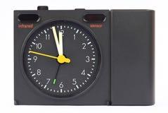 Horloge autour de 12 heures Photographie stock