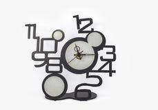Horloge avec des nombres Photo stock