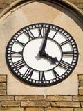 Horloge blanche 2 Images stock