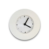 Horloge blanche photo libre de droits