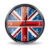 Horloge britannique Photo libre de droits