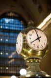 Horloge centrale grande Image libre de droits