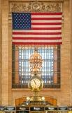 Horloge centrale grande New York City de gare Image libre de droits