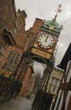 Horloge Chester d'Eastgate Photographie stock libre de droits
