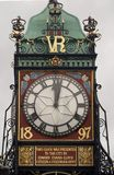 Horloge Chester d'Eastgate Photo stock