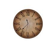 Horloge classique Photographie stock libre de droits