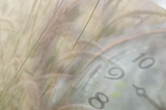 Horloge classique avec l'indicateur mobile images libres de droits