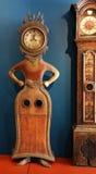 Horloge comme une femme finlandaise Images stock