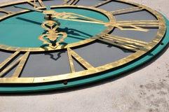 Horloge d'église Photographie stock