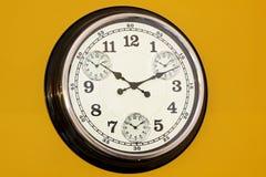 Horloge d'affaires Photos libres de droits