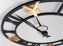 Horloge d'affaires Photographie stock libre de droits