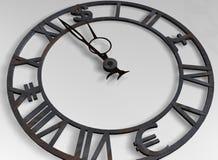Horloge d'affaires Photo stock