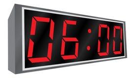 Horloge d'alarme électronique. Images stock