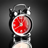 Horloge d'alarme Photos stock