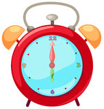 Horloge d'alarme illustration libre de droits