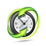 Horloge d'alarme Photographie stock
