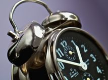 Horloge d'alarme Image stock