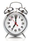 Horloge d'alarme. Photo stock