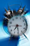 Horloge d'alarme Images libres de droits