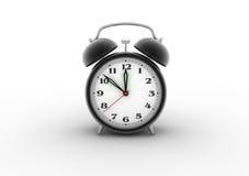 Horloge d'alarme 3D Illustration de Vecteur