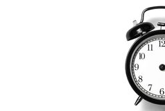 Horloge d'alarme classique de type Photo stock