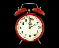 horloge d'alarme d'isolement Photos stock