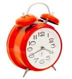 Horloge d'alarme de cru Photos stock