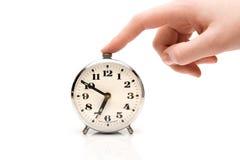 Horloge d'alarme de silence images libres de droits