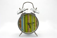 Horloge d'alarme de source Image stock