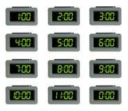 horloge d'alarme digitale Photo libre de droits