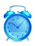 Horloge d'alarme en verre Photos stock