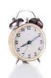 Horloge d'alarme mécanique Photos stock