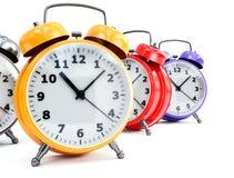 Horloge d'alarme traditionnelle Image libre de droits