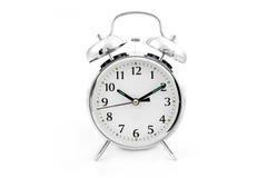Horloge d'alarme traditionnelle de rouage d'horloge Image libre de droits