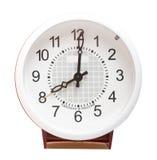 horloge d'alarme vieille image libre de droits