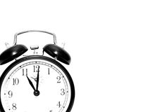 horloge d'alarme vieille photos stock