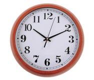 Horloge. D'isolement Photos libres de droits