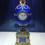Horloge d'oeufs de Fabergé Photo stock