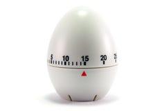 Horloge d'oeufs - 15 minutes Photographie stock libre de droits