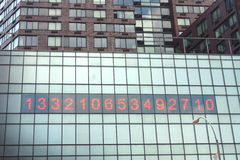 Horloge d'Union Square Photos stock
