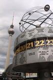 Horloge de Berlin Photographie stock libre de droits
