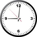 Horloge de bureau. Images stock