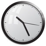 Horloge de bureau Images stock