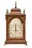 Horloge de bureau fleurie antique Photos stock