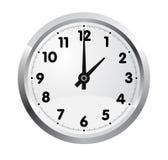 Horloge de bureau. Vecteur Photos libres de droits