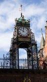 Horloge de Chester Eastgate Photographie stock libre de droits