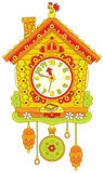 Horloge de coucou Image libre de droits